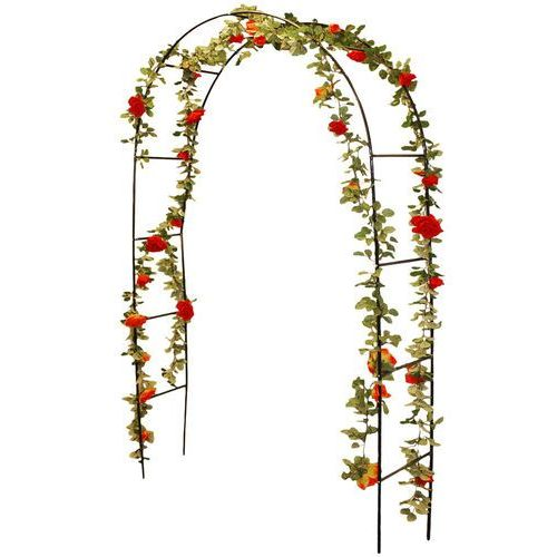 Pergola łukowa, różany łuk - 140 x 36 x 240 cm