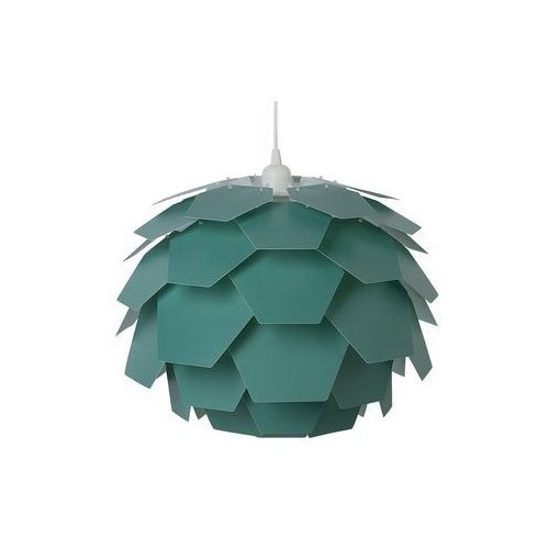 Beliani Lampa wisząca zielona segre