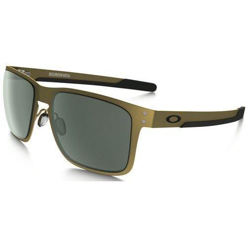Oakley HOLBROOK Okulary sportowe gold satin, OO4123-0855
