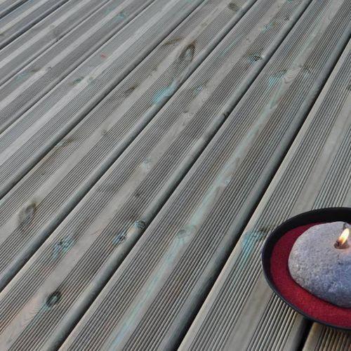 Blooma Deska tarasowa drewniana  2400 x 144 x 27 mm sosna
