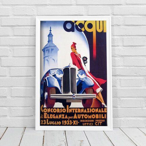 Plakat do pokoju Plakat do pokoju Acqui Concorso Internazionale di Eleganza for Automobili