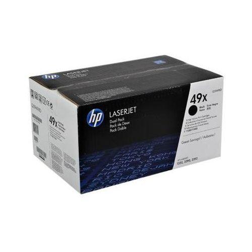 Tonery Oryginalne HP 49X (Q5949XD) (Czarne) (dwupak) - DARMOWA DOSTAWA w 24h