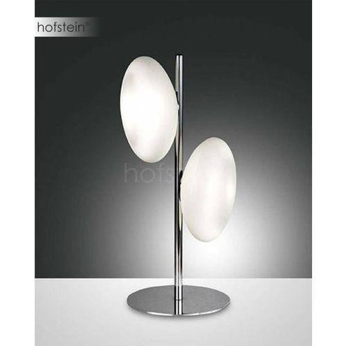Fabas luce melody lampa stołowa chrom, 2-punktowe - nowoczesny - obszar wewnętrzny - melody - czas dostawy: od 8-12 dni roboczych (8019282051237)