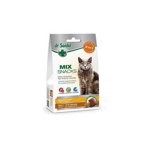 Dr seidl smakołyki dr seidla mix 2w1 dla kotów na piękną sierść marki Laboratorium dermapharm