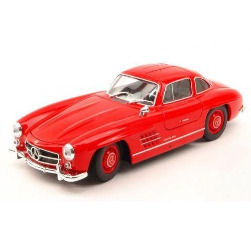 Mercedes-Benz 300 SL, czerwony - Welly, 1_580820