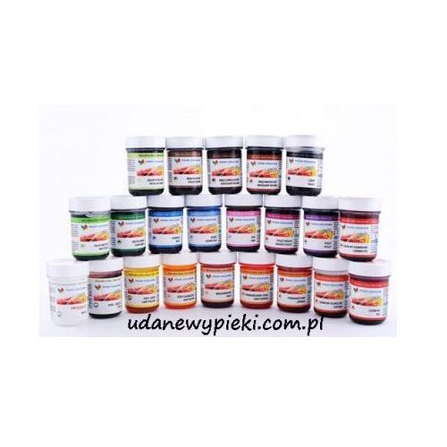 Food colours Barwnik spożywczy w żelu - kolory - 35g