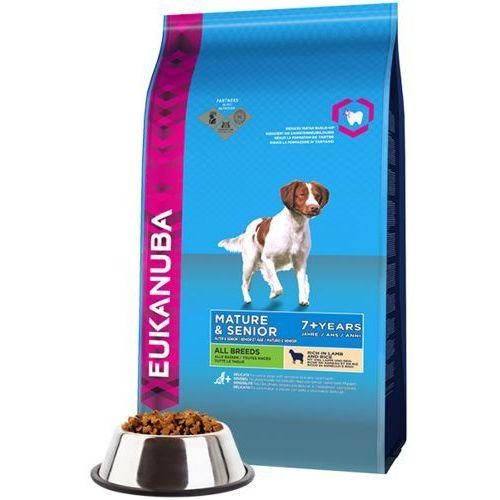 Eukanuba Mature&Senior Lamb&Rice 2x12kg DWU-PAK, 2437