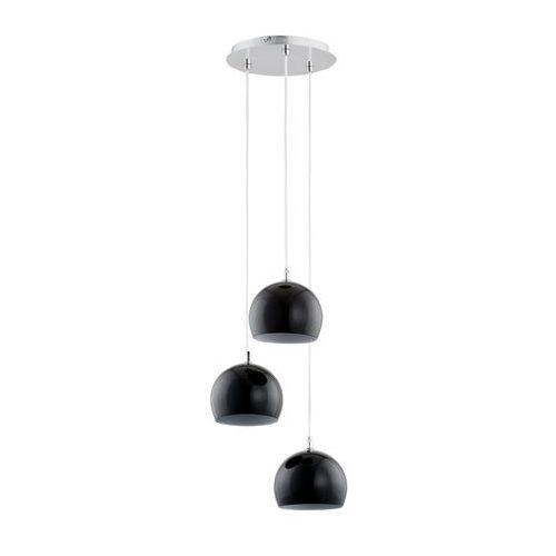 Alfa Lampa wisząca waterfall 21023. black kule zwis 3x40w e14 chrom/czarna >>> rabatujemy do 20% każde zamówienie!!!