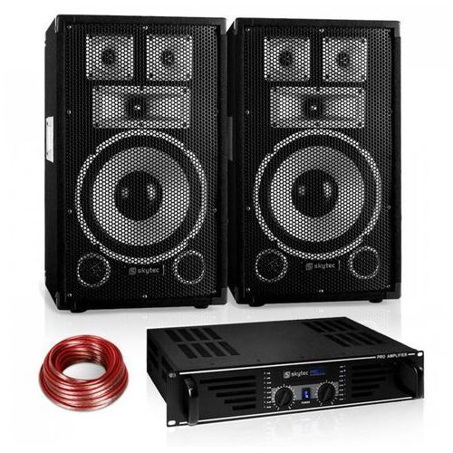 """Zestaw PA Saphir Series """"Warm Up Party"""" 10PLUS z parą głośników& wzmacniaczem 600. Najniższe ceny, najlepsze promocje w sklepach, opinie."""