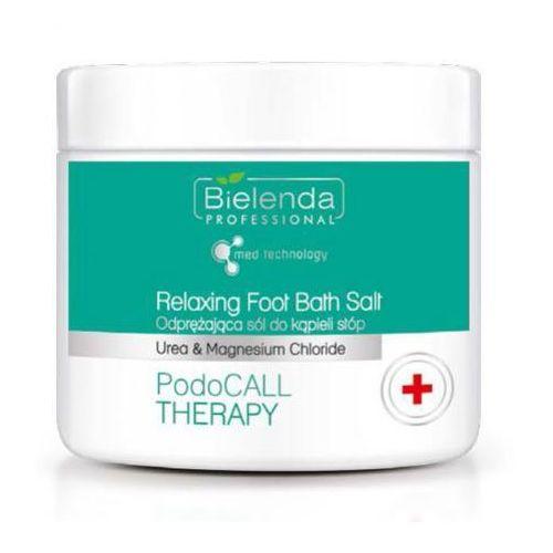 relaxing foot bath salt odprężająca sól do kąpieli stóp marki Bielenda professional