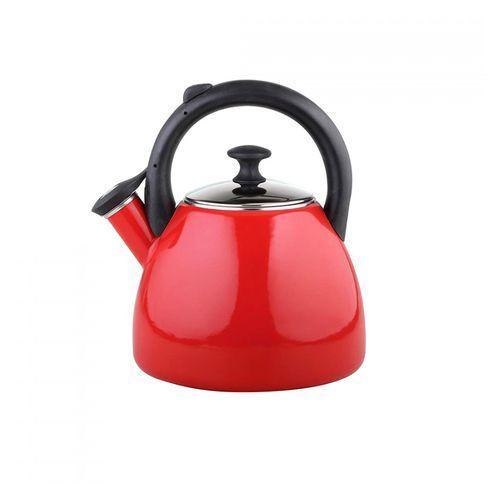 Czajnik emaliowany bevel gładki czerwony 2,2l marki Fl1