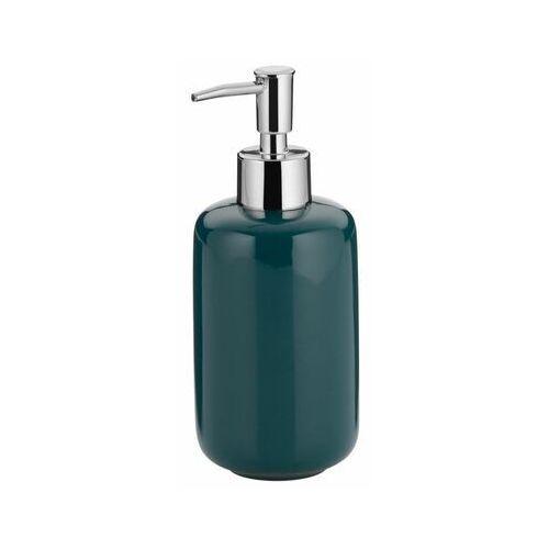 Kela - Isabella - dozownik do mydła w płynie, ciemnozielony - ciemnozielony