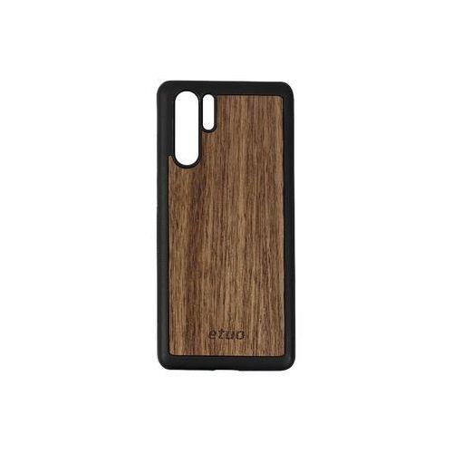 Etuo wood case Huawei p30 pro - etui na telefon wood case - orzech amerykański