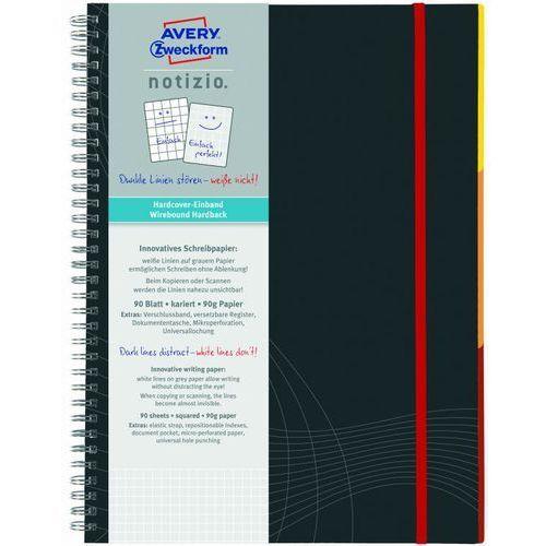 Kołozeszyt notizio premium 7025 a4/80k. kratka marki Avery zweckform