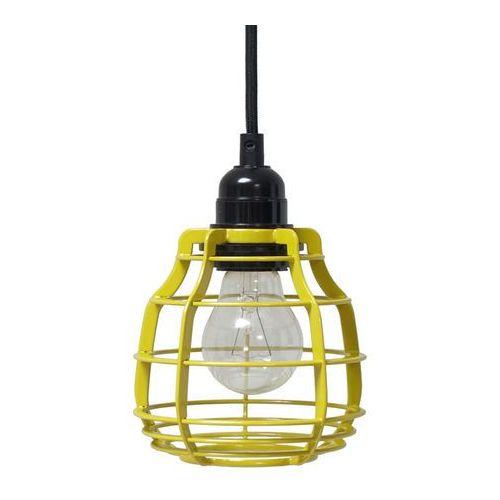 :: lampa lab żółta z włącznikiem - żółty marki Hk living