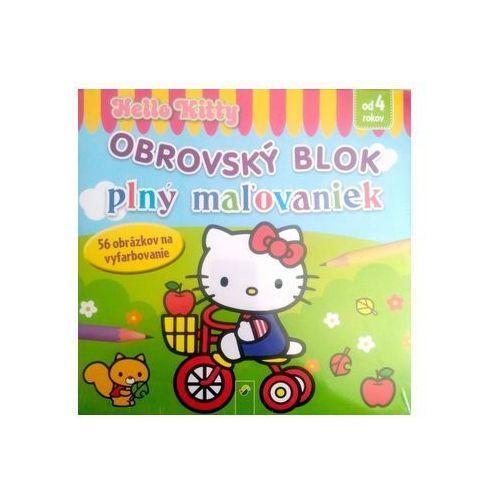 OKAZJA - Obrovský blok plný maľovaniek - Hello Kitty autor neuvedený
