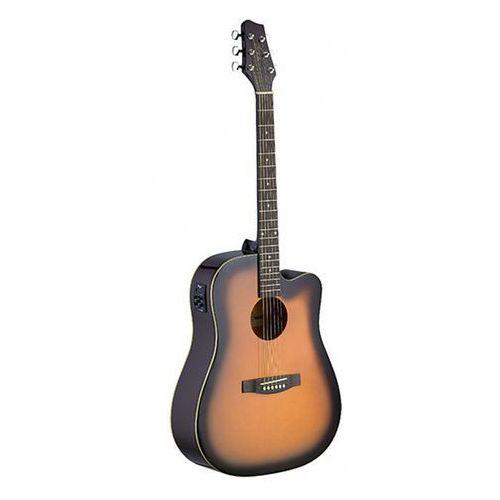 Stagg SA30DCE BS gitara elektroakustyczna