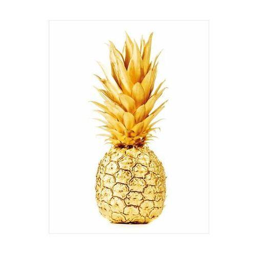 Plakat ananas 30 x 40 cm marki Art canvas