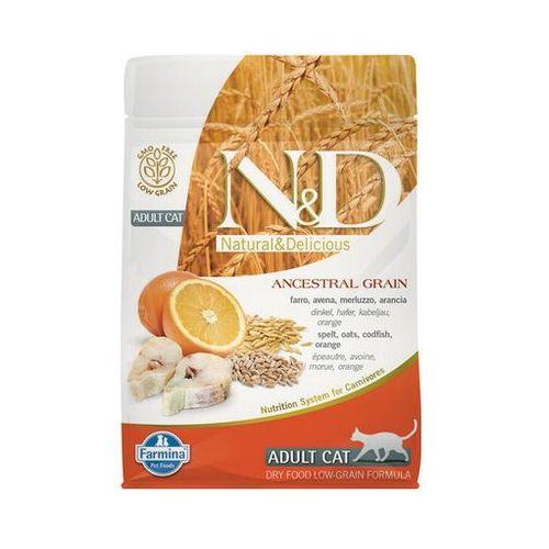 n&d ancestral grain fish & orange adult cat 5 kg - darmowa dostawa od 95 zł! marki Farmina
