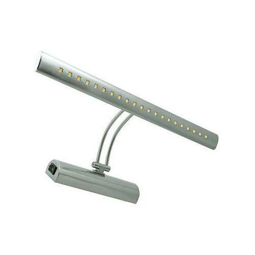 Ideus Kinkiet lampa ścienna brena 03068 regulowana oprawa metalowa led 4w galeryjka nad lustro satyna (5901477330681)