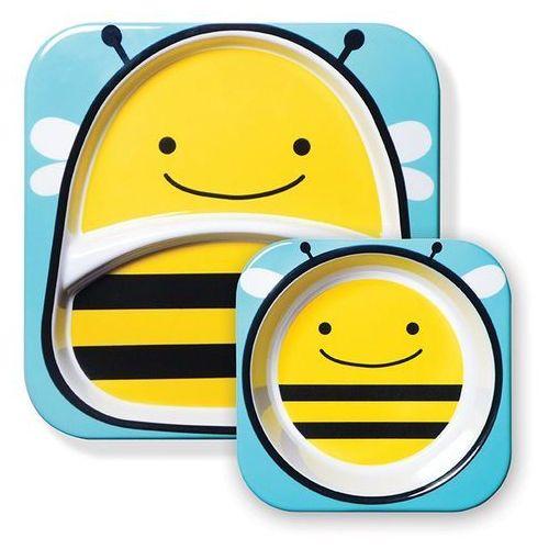 Skip hop Zestaw jedzeniowy zoo pszczoła