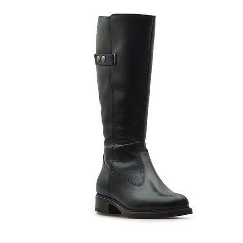 Kozaki  1-26542-29 czarne lico marki Tamaris