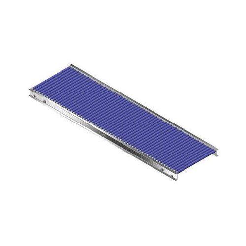 Gura fördertechnik Mały przenośnik rolkowy z ramą z aluminium, rolki z tworzywa, szer. taśmy 400 mm