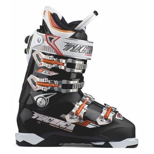 Buty narciarskie Demon 100 Air Shell Czarny/Pomarańczowa 29.5