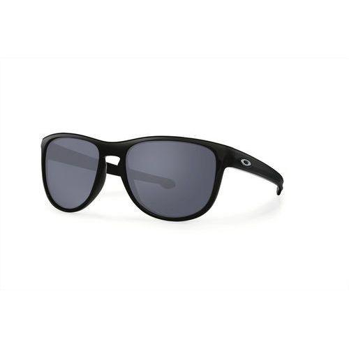 Oakley Sliver R Okulary rowerowe Mężczyźni czarny 2017 Okulary przeciwsłoneczne