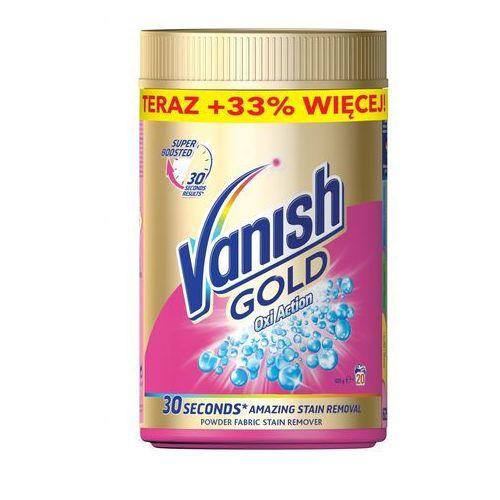 Odplamiacz do tkanin kolorowych Oxi Action VANISH GOLD
