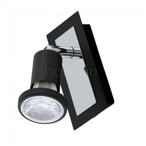 Eglo Kinkiet lampa ścienna sarria 1x5w led czarny chrom 94963 (9002759949631)