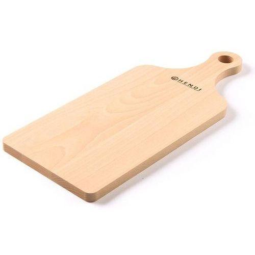 Drewniana deska do krojenia z uchwytem   390x160mm