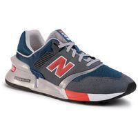 Sneakersy - ms997lgs niebieski szary, New balance, 40-47.5