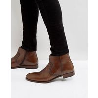 chelsea boots in brown leather - brown marki Red tape
