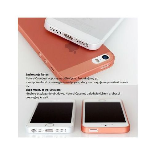 Futerał back case natural case iphone xr czarny marki 3mk