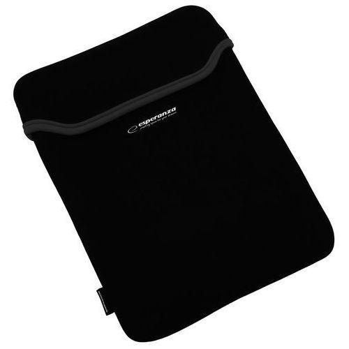 Esperanza etui ochronne na tablet 7'' | czarny / czarny | gruby neopren 3mm (5901299903094)