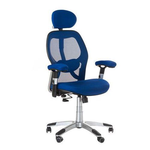 Fotel ergonomiczny bx-4144 niebieski marki Corpocomfort