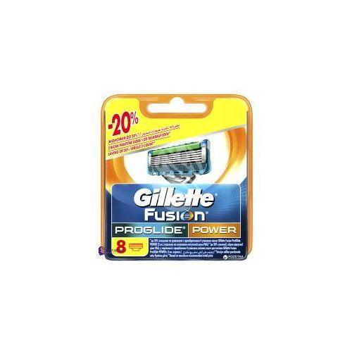 fusion proglide power (m) wkład do maszynki do golenia 8szt marki Gillette