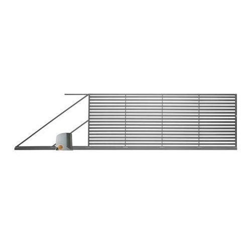 Polbram steel group Brama przesuwna z automatem brava 400 x 150 cm lewa (5901891478648)