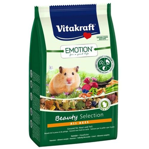 Vitakraft  emotion beauty selection pokarm dla chomików w każdym wieku 600g