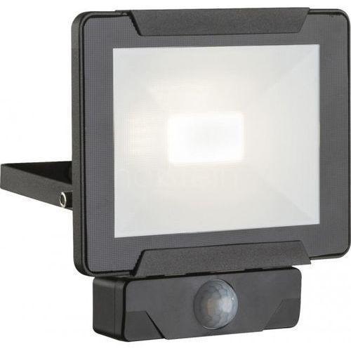 Globo urmia reflektor elewacyjny led czarny, 1-punktowy, czujnik ruchu - nowoczesny - obszar zewnętrzny - urmia - czas dostawy: od 6-10 dni roboczych marki Globo lighting