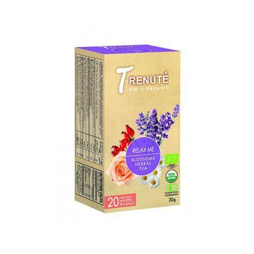 Herbatka kwiatowo - ziołowa relax me bio 30 g (1,5 g x 20 szt.) - t'renute marki T'renute (herbaty)