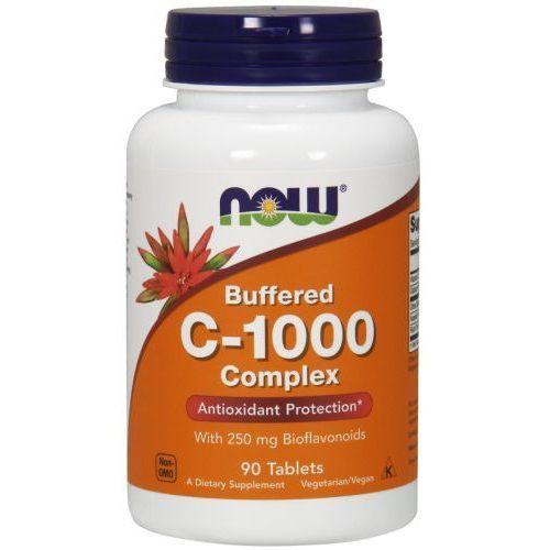 Tabletki Bufforowana witamina C-1000 Complex NOW 90 tabl.