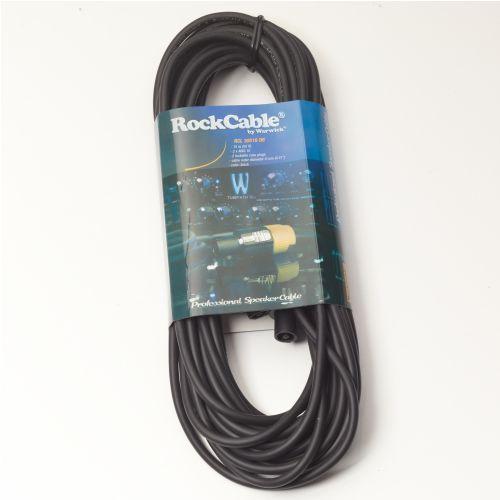 przewód głośśnikowy - lockable coaxial plug, 2-pin, 15 m / 49.2 ft marki Rockcable