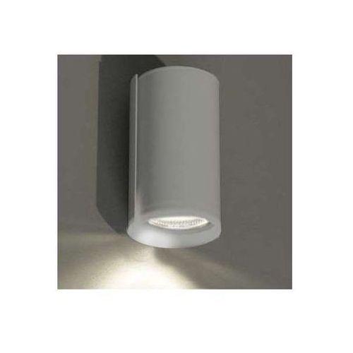 Kinkiet lampa ścienna ozu 4403/gu10/sz minimalistyczna oprawa okrągła szary marki Shilo