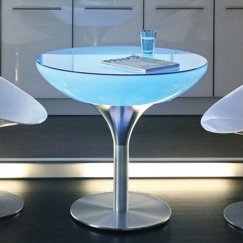 Okrągły stół świecący LOUNGE, wysokość 75 cm (4260218360730)