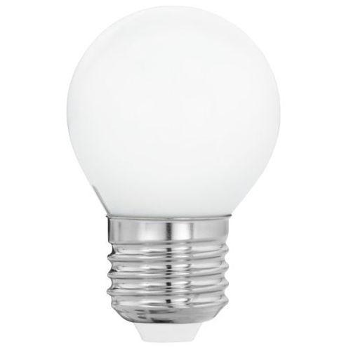 Eglo Żarówka led e27 g45 4w, ciepła biel, opalowa (9002759116057)