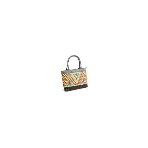 Torba PLATINET Felt Collection 15,6 Kolorowa mozaika