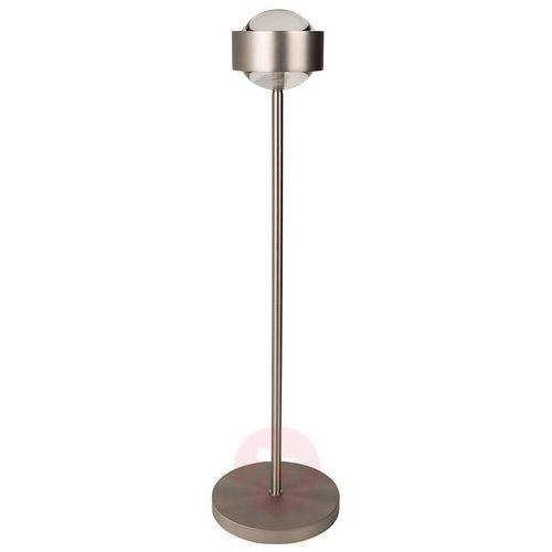 Elegancka lampa stołowa PUK EYE, chrom mat
