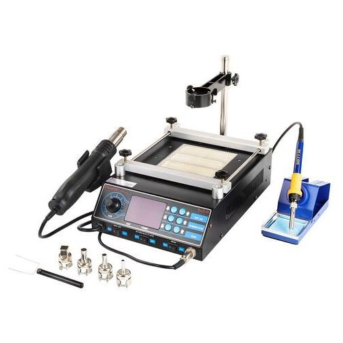 Stacja lutownicza - 75 w - 2 x kolba - podgrzewacz - led - basic marki Stamos soldering